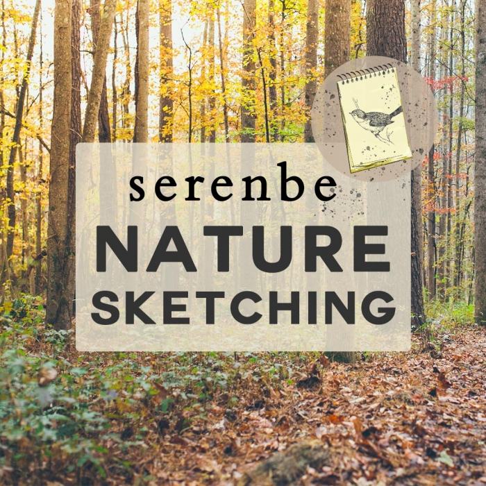 Serenbe Nature Sketching - March Walk In The Woods